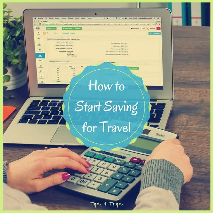 4 step to create a travel savings plan with a free travel budget planner