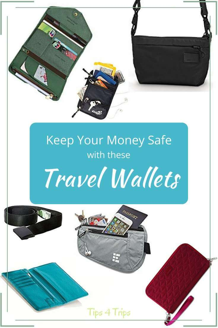 Pin image containing safe travel wallets