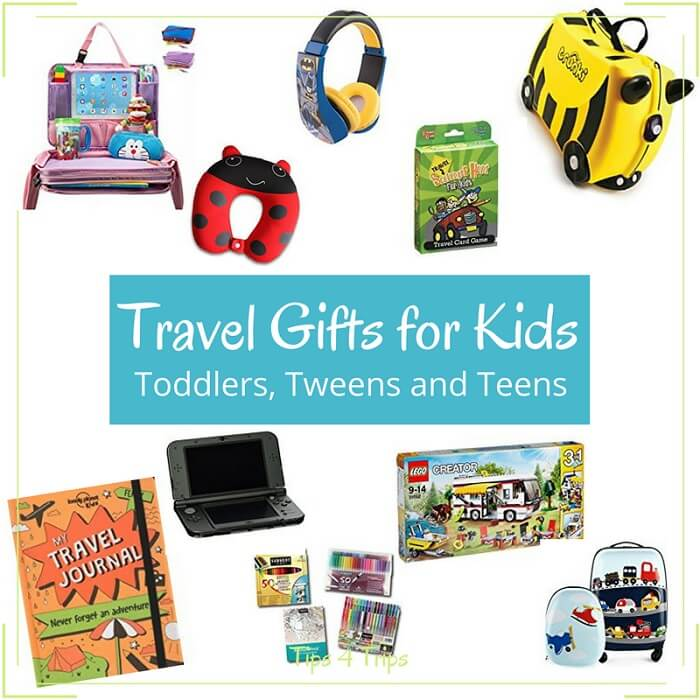Travel gifts for kids toddlers to teens tips 4 trips for Travel gear for toddlers