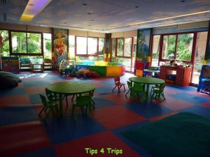 The equipment in Camp safari kids club at Grand Centara Phuket