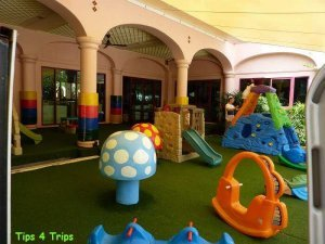 The outdoor toddler playground at Centara Beach Hotel Phuket