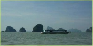 Phang Nga Bay tour by long tail boat
