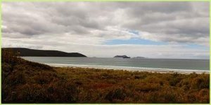 Cloudy dat at Emu Beach, Albany Western Australia